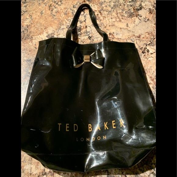 Ted Baker London Handbags - Ted Baker London Patent Tote